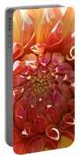 Floral Sun Portable Battery Charger