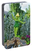Floral Tinker Bell Portable Battery Charger