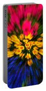Floral Triple Zoom Portable Battery Charger