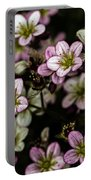 Floral Wallpaper Portable Battery Charger