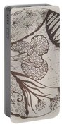 Floral Zen Tangle  Portable Battery Charger