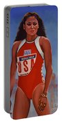 Florence Griffith - Joyner Portable Battery Charger