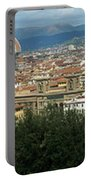 Florence Italy Panoramic Portable Battery Charger