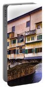 Florence Italy Ponte Vecchio Portable Battery Charger