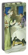 Florence Nightingale From Peeps Portable Battery Charger by Trelleek
