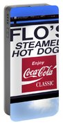 Flo's Steamed Hot Dogs Portable Battery Charger