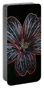 Flower Abstract Portable Battery Charger