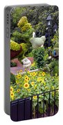 Flower And Garden Signage Walt Disney World Portable Battery Charger