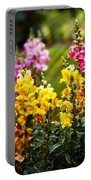 Flower - Antirrhinum - Grace Portable Battery Charger by Mike Savad