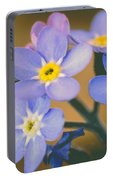 Forget Me Nots Portable Battery Charger