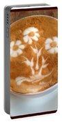 Flower Bouquet Latte Art Portable Battery Charger