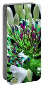 Flower Bunch Bush Sensual Exotic Valentine's Day Gifts Portable Battery Charger