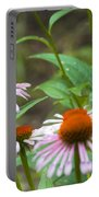 Flower - Cone Flower- Luther Fine Art Portable Battery Charger