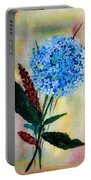 Flower Decor Portable Battery Charger