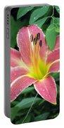 Flower Garden 01 Portable Battery Charger