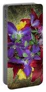 Flower - Garden Joy - Luther Fine Art Portable Battery Charger