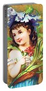 Flower Girl Portable Battery Charger