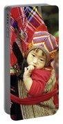 Flower Hmong Baby 01 Portable Battery Charger