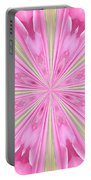 Flower Kaleidoscope Portable Battery Charger