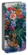 Flower Life Portable Battery Charger