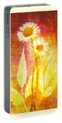 Flower Love Triptic Portable Battery Charger