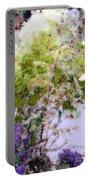 Flower Market Ile De La Cite Portable Battery Charger