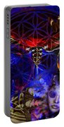 Flower Of Creation  Portable Battery Charger