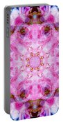 Flower Of Life Lily Mandala Portable Battery Charger