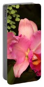 Flower - Orchid -  Cattleya - Magenta Splendor Portable Battery Charger