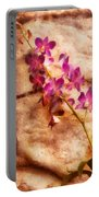 Flower - Orchid - Just Splendid Portable Battery Charger