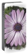Flower Paint Portable Battery Charger