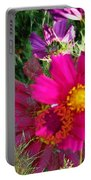 Flower Patch 1 Portable Battery Charger