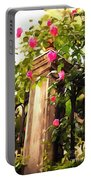 Flower Post Portable Battery Charger
