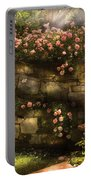 Flower - Rose - In The Rose Garden  Portable Battery Charger