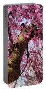 Flower - Sakura - Finally It's Spring Portable Battery Charger by Mike Savad