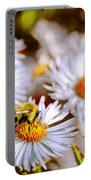 Flowering Bee Portable Battery Charger