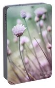 Flowering Chives I Portable Battery Charger