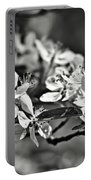 Flowering Crabapple 2 Bw Portable Battery Charger