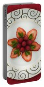 Flowering Fruits Portable Battery Charger