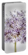 Flowering Onion Flower Portable Battery Charger