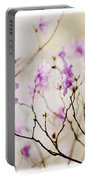 Flowering Rhododendron Portable Battery Charger