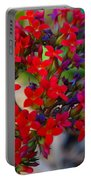 Flowers 3 Portable Battery Charger