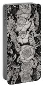 Flowers Abstract Portable Battery Charger