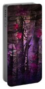 Flowers Among Thorns Portable Battery Charger