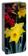 Flowers And Berries 030515aa Portable Battery Charger
