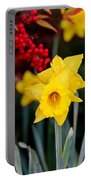 Flowers And Berries 030515ab Portable Battery Charger