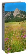 The Flatirons Colorado Portable Battery Charger