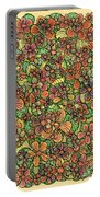 Flowers And Foliage  Portable Battery Charger