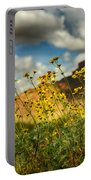 Flowers Are Food For The Soul  Portable Battery Charger