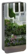 Flowers At Bay Head Portable Battery Charger